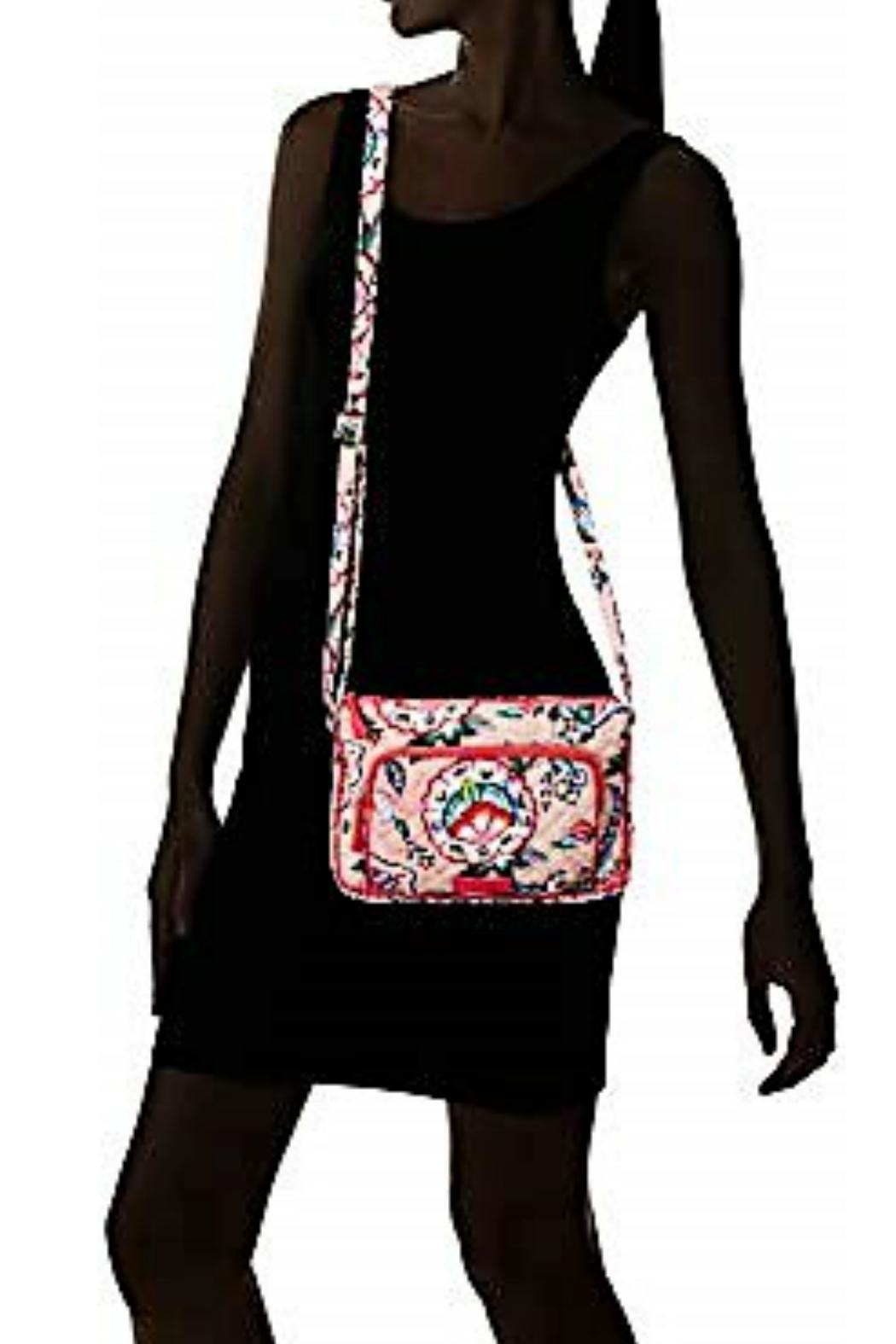 Vera Bradley Stitched Flowers Little-Hipster - Back Cropped Image