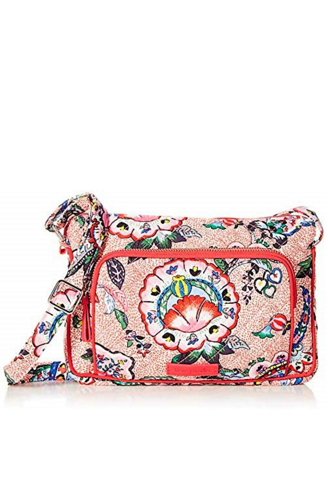 Vera Bradley Stitched Flowers Little-Hipster - Main Image