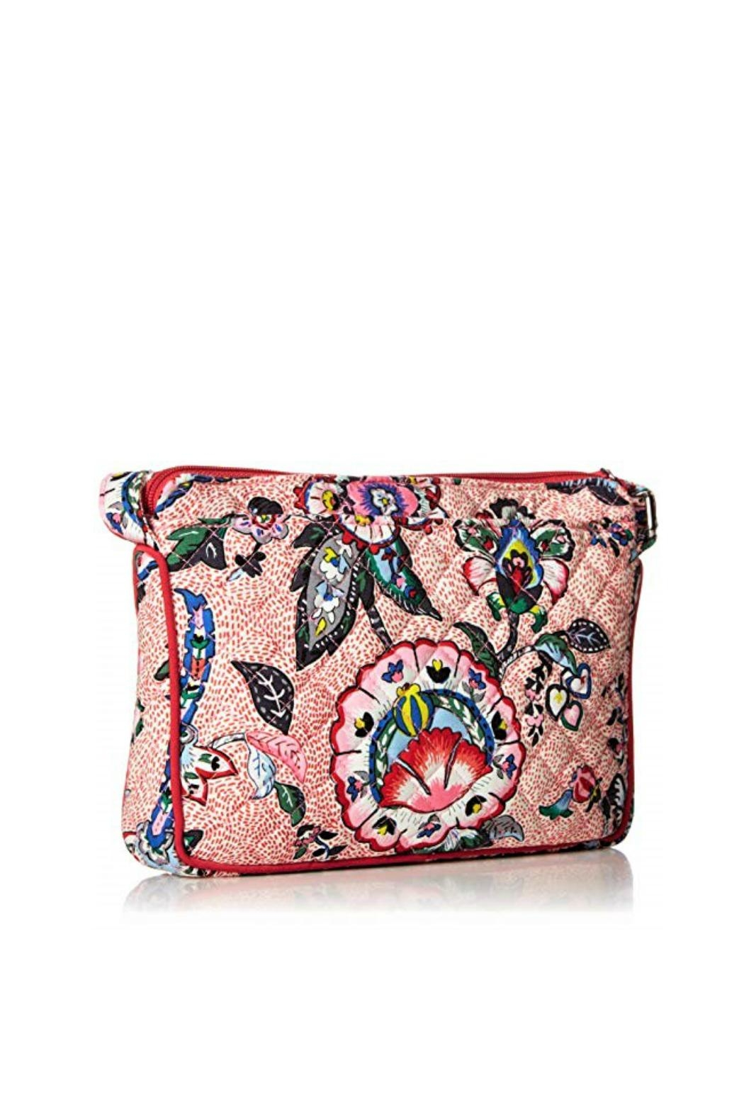 Vera Bradley Stitched Flowers Little-Hipster - Front Full Image