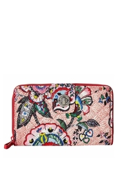 Vera Bradley Stitched Flowers Turnlock - Product Mini Image