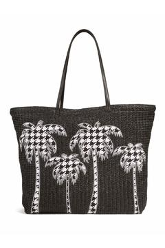 Shoptiques Product: Straw Midnight Houndstooth