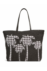 Vera Bradley Straw Midnight Houndstooth - Product Mini Image