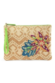 Vera Bradley Straw Natural Chevron - Product Mini Image