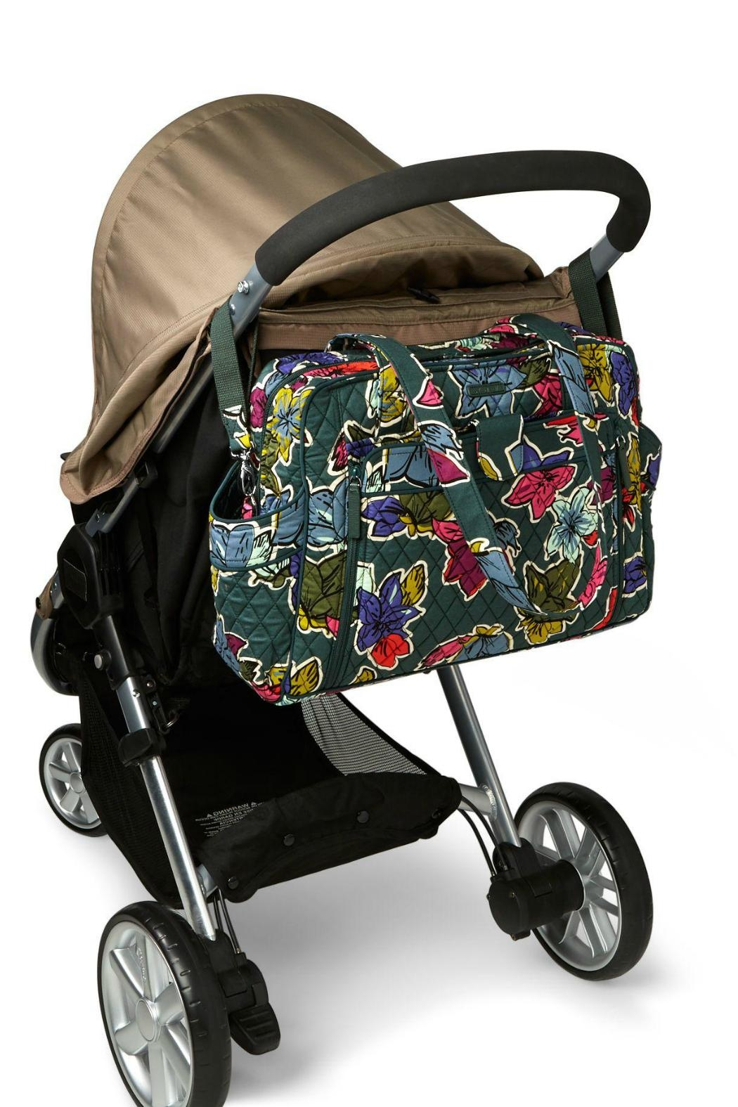 Vera Bradley Stroll Around Baby-Bag - Side Cropped Image