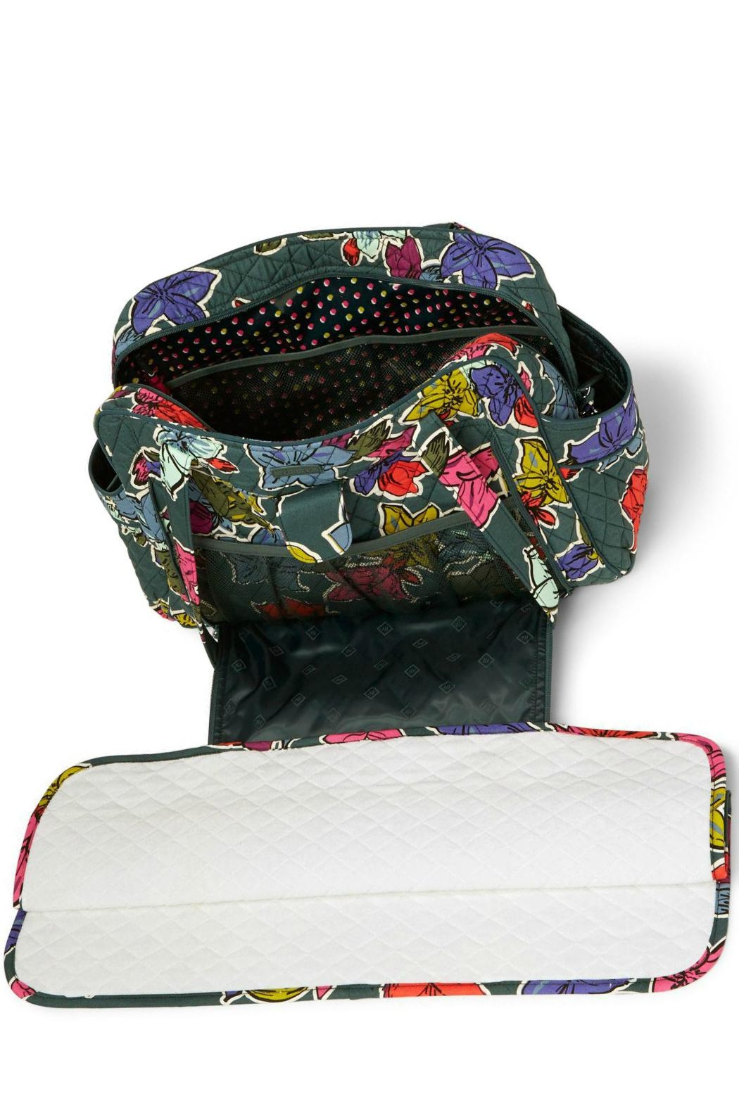 Vera Bradley Stroll Around Baby-Bag - Back Cropped Image