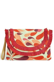 Vera Bradley Summer-Splash Fringed Wristlet - Product Mini Image