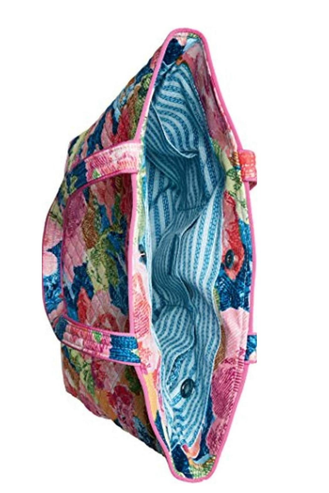 Vera Bradley Superbloom Iconic Bag - Side Cropped Image