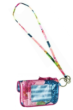 Vera Bradley Superbloom Jen Id Lanyard Set - Alternate List Image