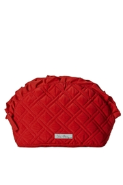 Vera Bradley Tango Red Ruffle-Cosmetic - Product Mini Image