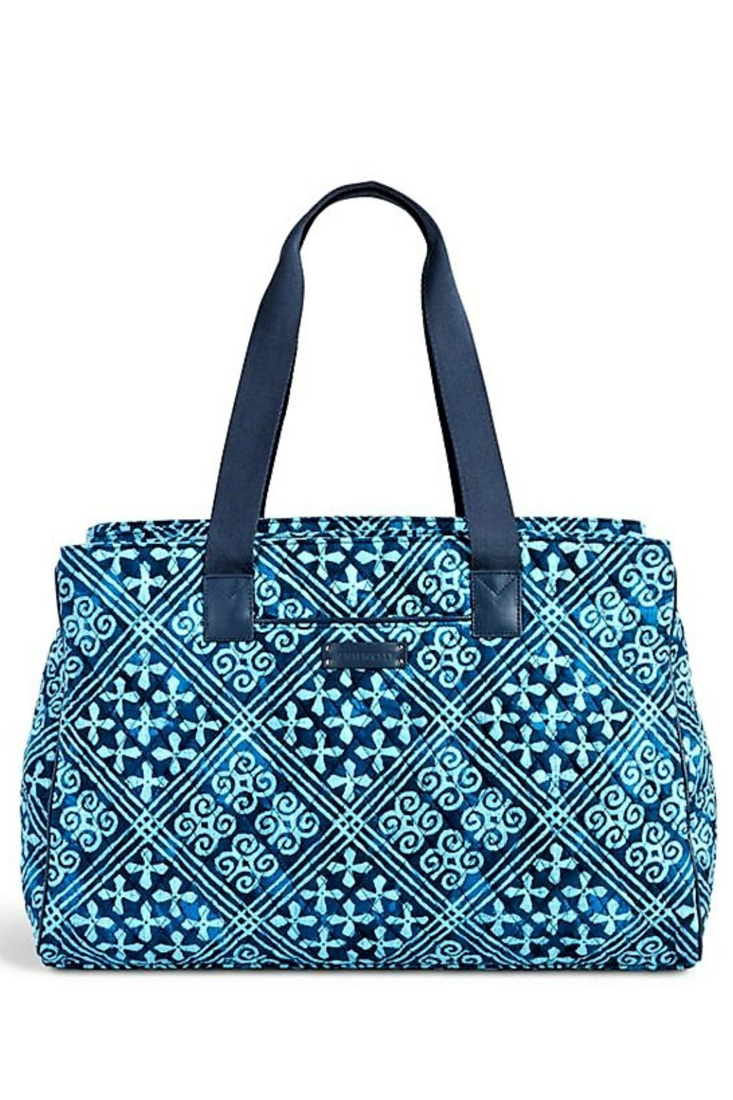 Vera Bradley Triple Compartment Travel Bag - Front Cropped Image