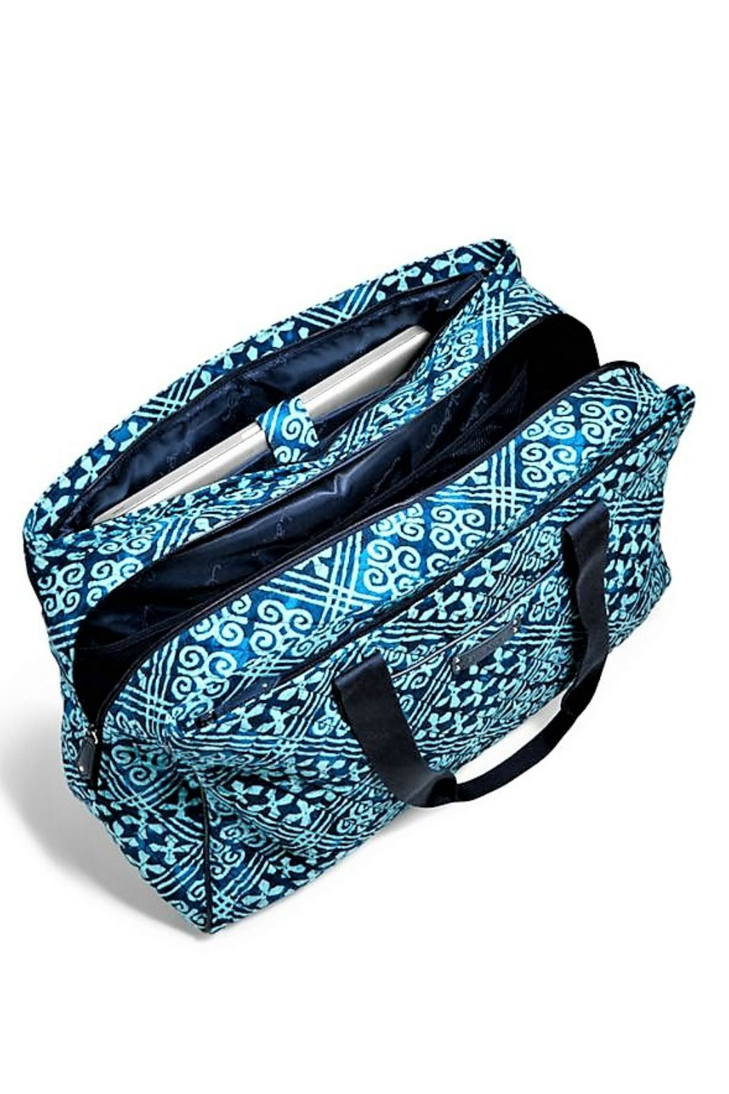 Vera Bradley Triple Compartment Travel Bag - Back Cropped Image