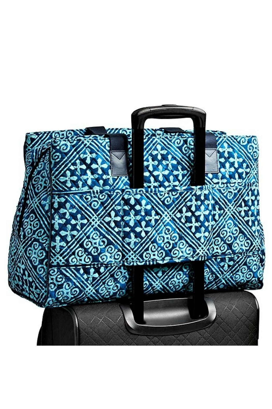 Vera Bradley Triple Compartment Travel Bag - Front Full Image