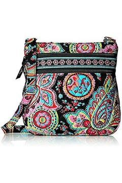 Vera Bradley Triple-Zip Parisian Paisley - Product List Image