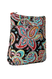 Vera Bradley Triple-Zip Parisian Paisley - Front full body