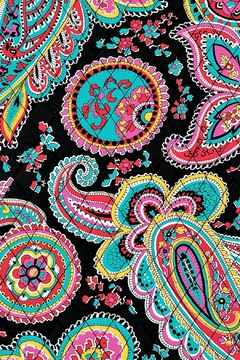 Vera Bradley Triple-Zip Parisian Paisley - Alternate List Image