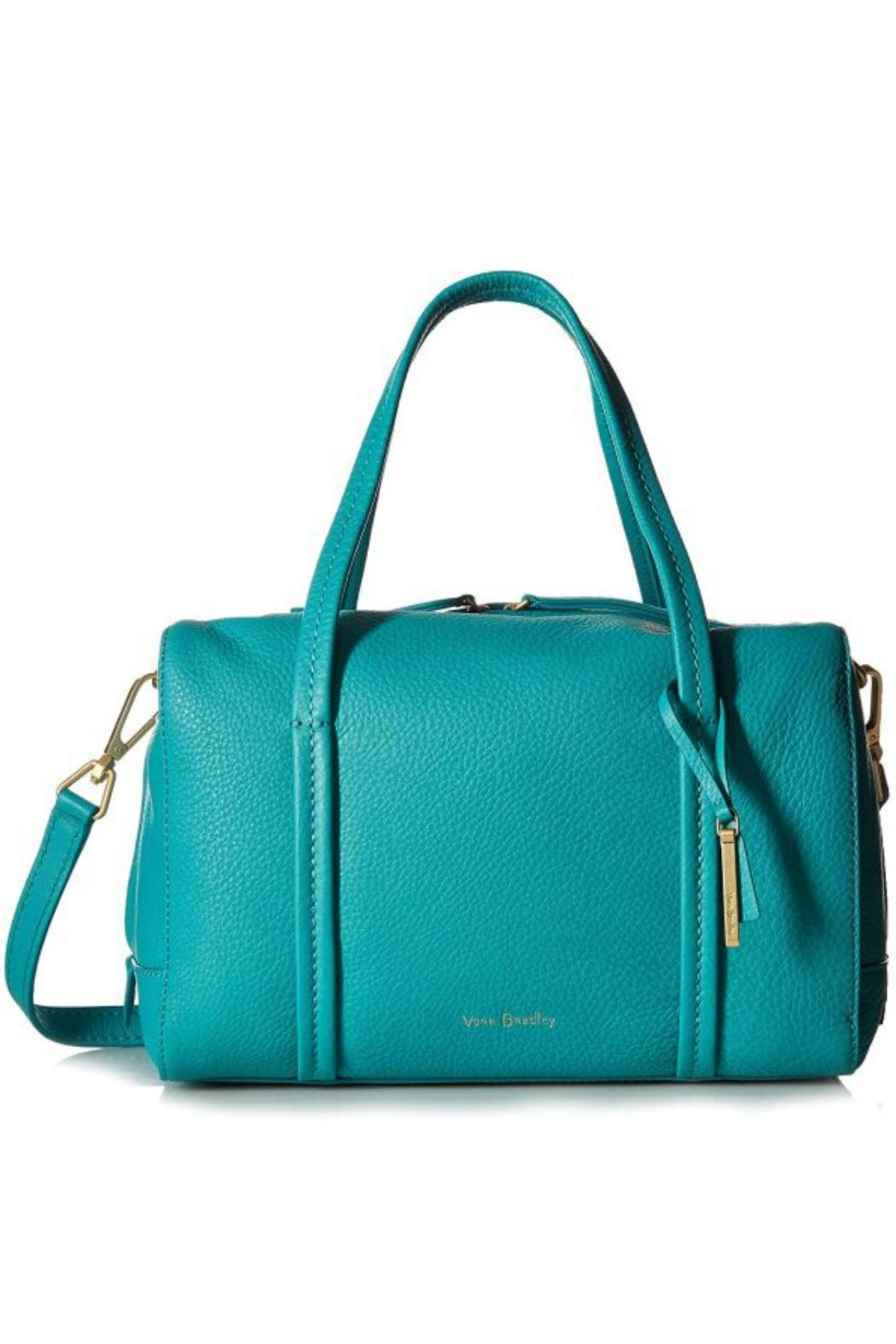 Vera Bradley Turquoise Sea Leather - Front Cropped Image