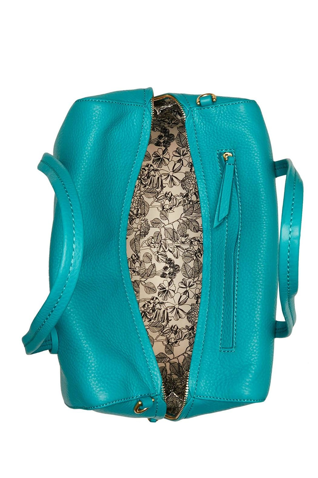 Vera Bradley Turquoise Sea Leather - Side Cropped Image