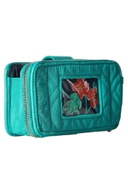 Vera Bradley Turquoise Sea Smartphone-Wristlet - Back cropped