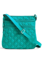 Vera Bradley Turquoise Sea Triple Crossbody - Front cropped