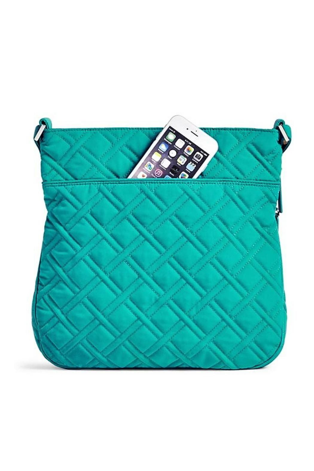 Vera Bradley Turquoise Sea Triple Crossbody - Front Full Image
