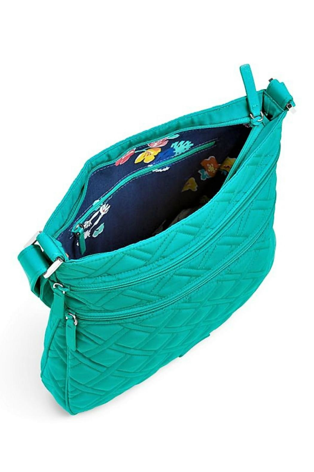 Vera Bradley Turquoise Sea Triple Crossbody - Side Cropped Image