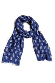 Vera Bradley Turtles Fringed Scarf - Product Mini Image
