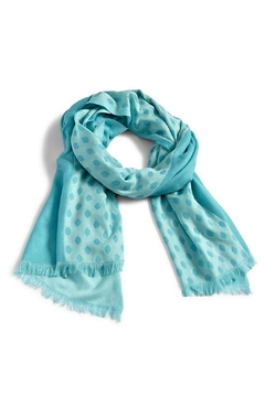 Vera Bradley Two-Tone Teal Scarf - Product List Image