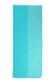 Vera Bradley Two-Tone Teal Scarf - Front full body