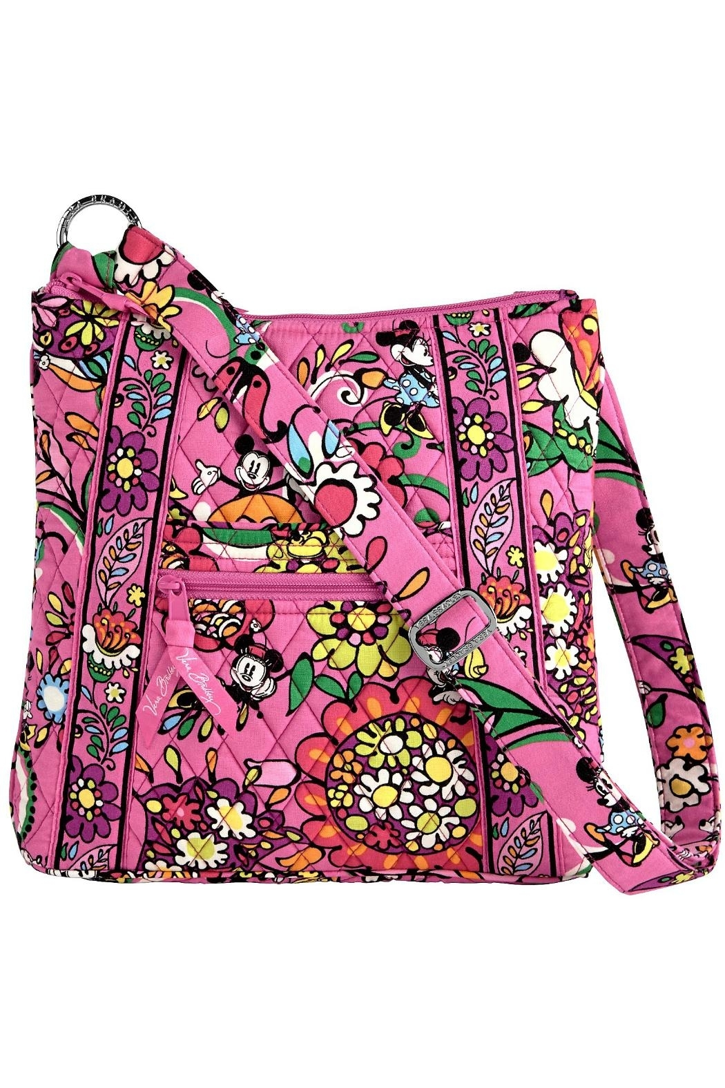 Vera Bradley Disney Mousin' Around-Hipster - Front Cropped Image