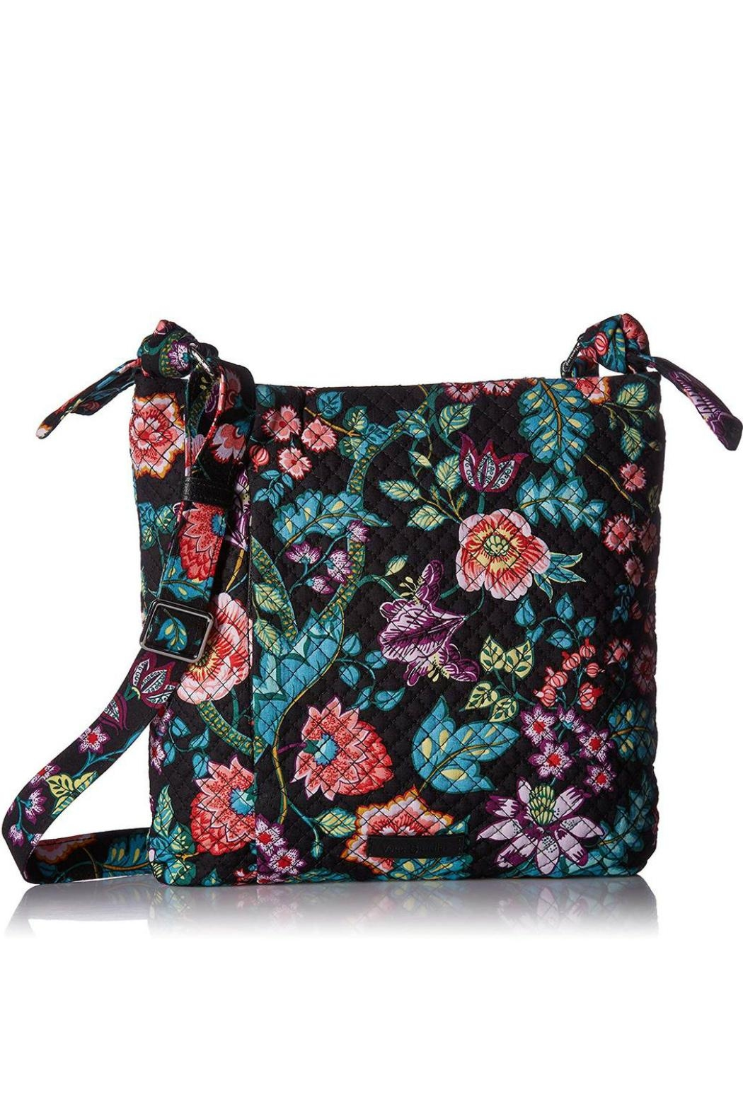 Vera Bradley Vines Floral Hadley-Hipster - Front Cropped Image