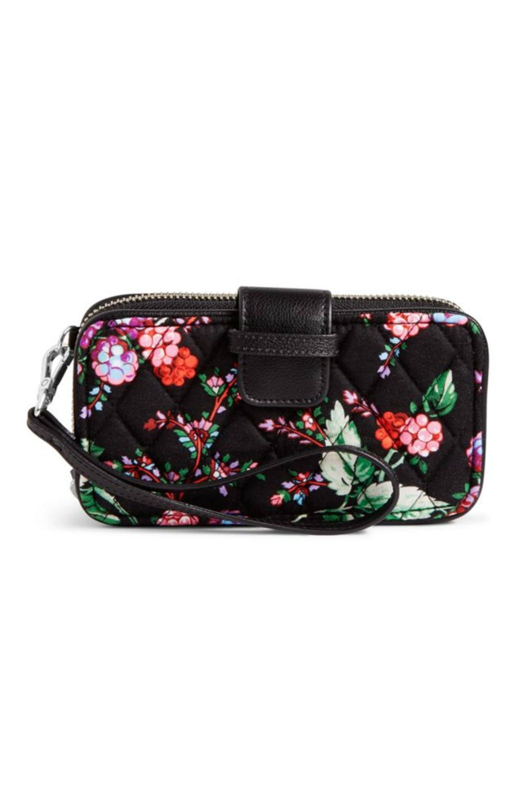 Vera Bradley Winter-Berry Smartphone Wristlet - Front Cropped Image
