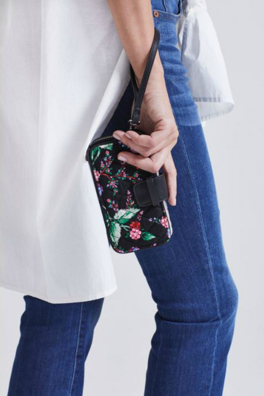 Vera Bradley Winter-Berry Smartphone Wristlet - Back Cropped Image