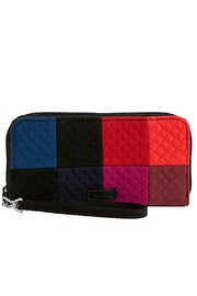 Vera Bradley Winter Patchwork Wristlet - Product Mini Image