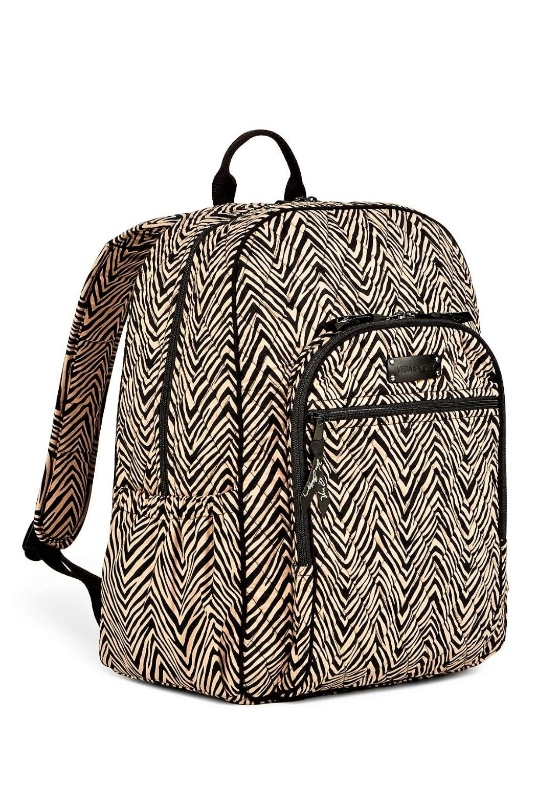 Vera Bradley Zebra Campus Backpack - Front Full Image
