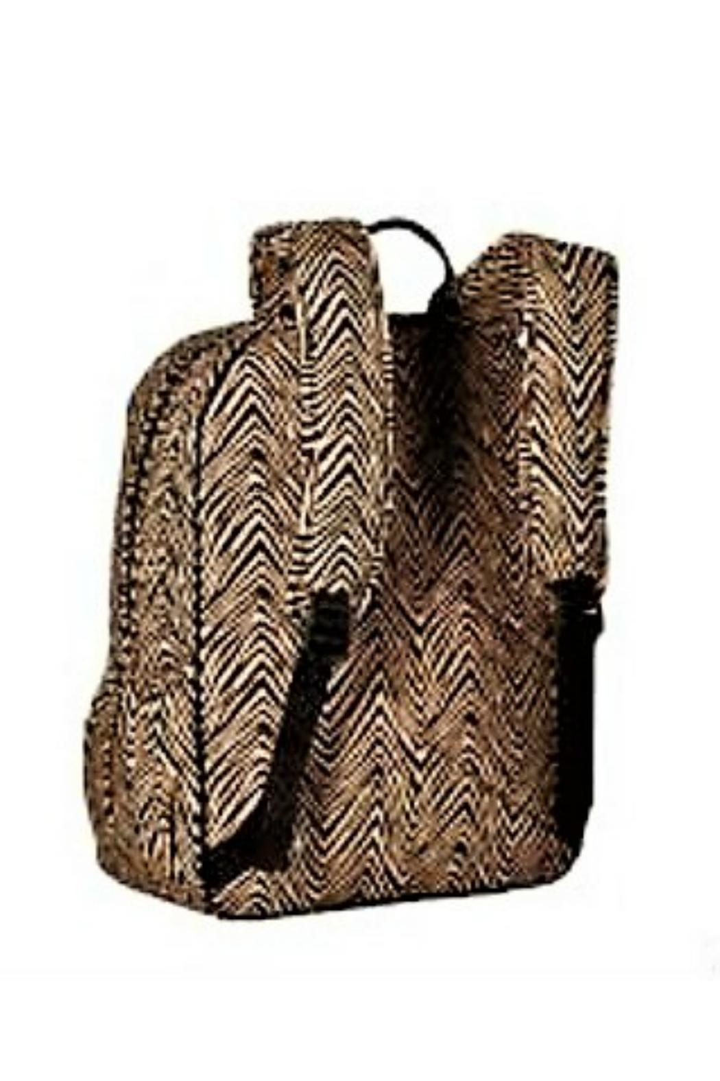 Vera Bradley Zebra Campus Backpack - Back Cropped Image