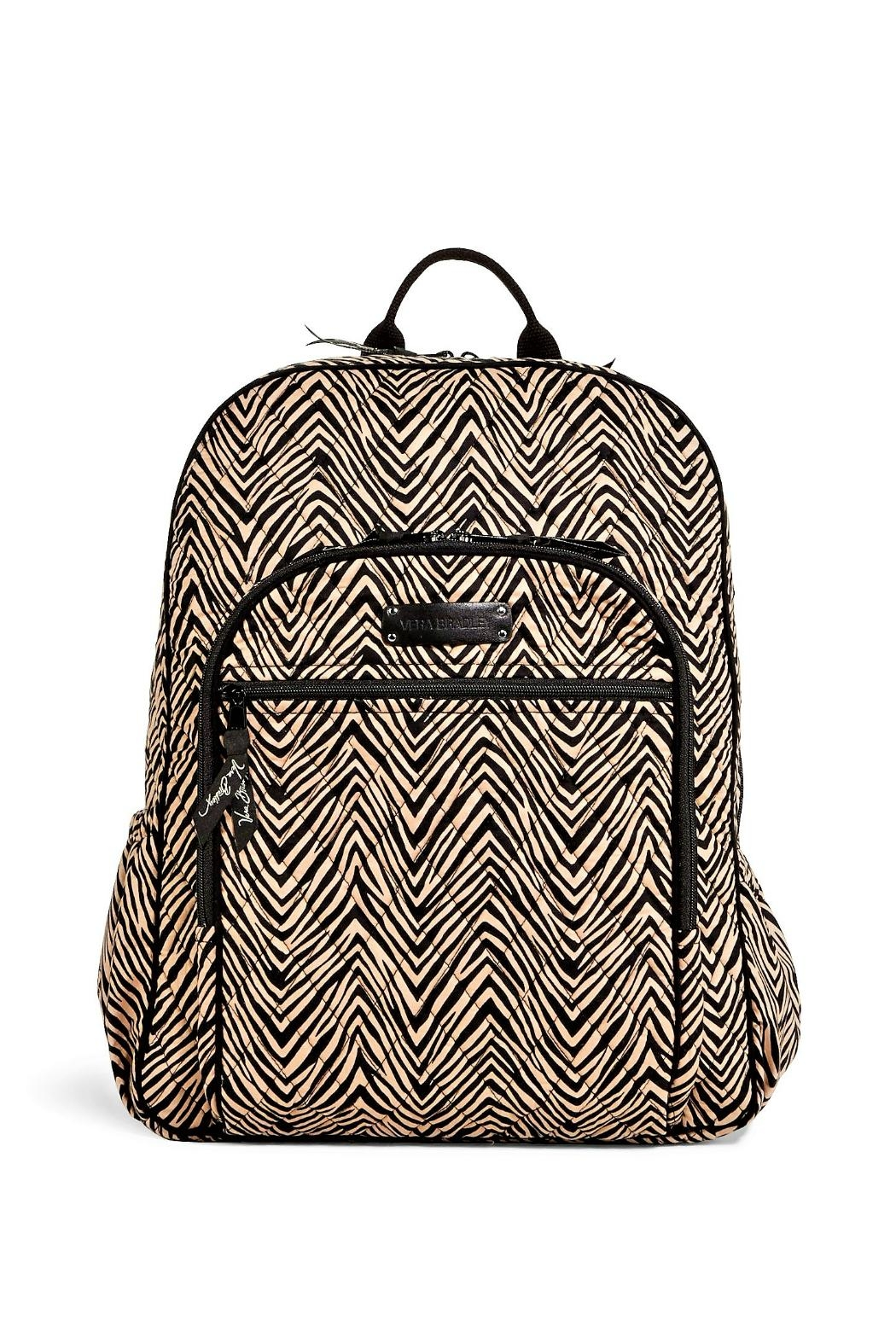 Vera Bradley Zebra Campus Backpack - Main Image