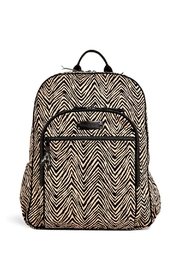 Vera Bradley Zebra Campus Backpack - Front cropped
