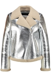 Vera Moda Faux Shearling Jacket - Other