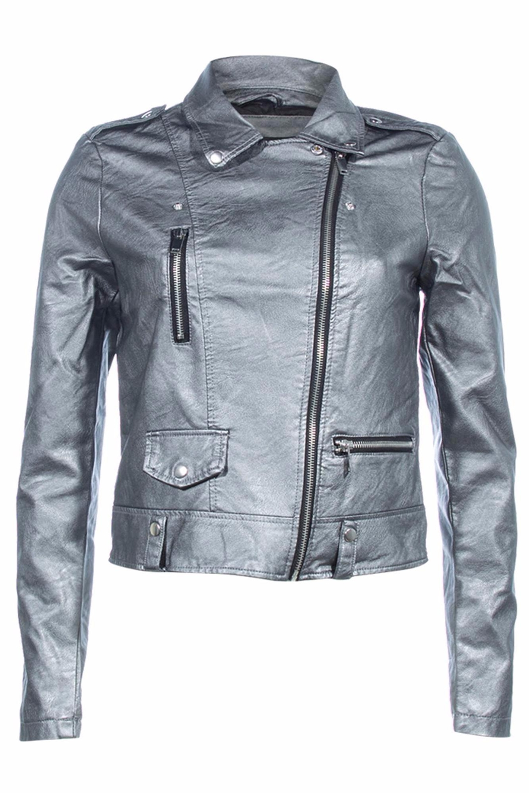 Vera Moda Vegan Leather Jacket - Main Image