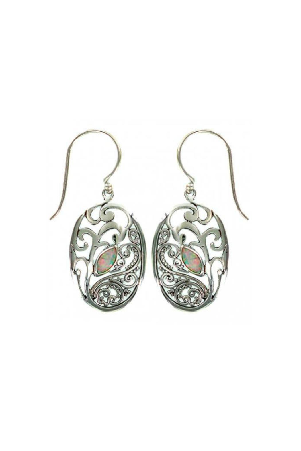 Vera Wolf Cultured Opal Earrings - Main Image