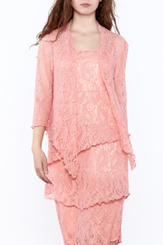Verducci Coral Lace Jacket - Product Mini Image