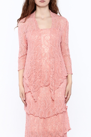 Verducci Coral Lace Jacket - Side cropped