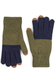 Verloop Green/navy Touchscreen Gloves - Product Mini Image