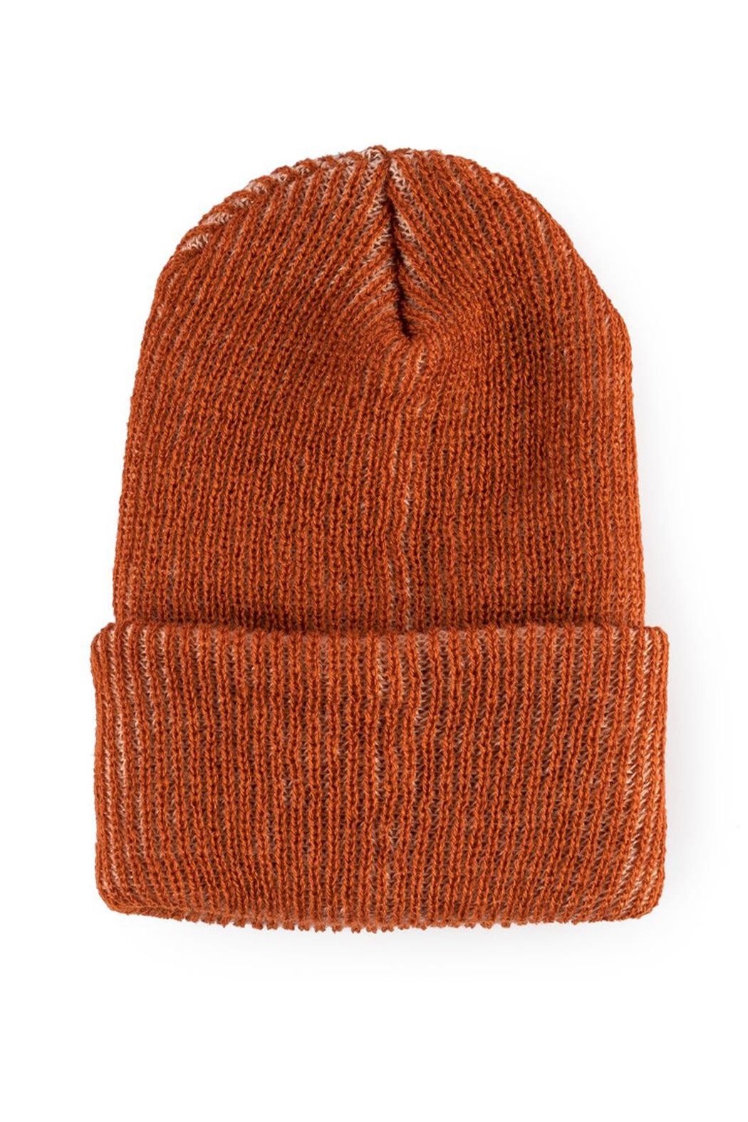Verloop Rib Knit Beanie - Front Cropped Image