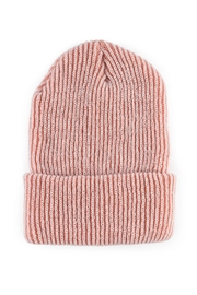 Verloop Rib Knit Beanie - Front cropped