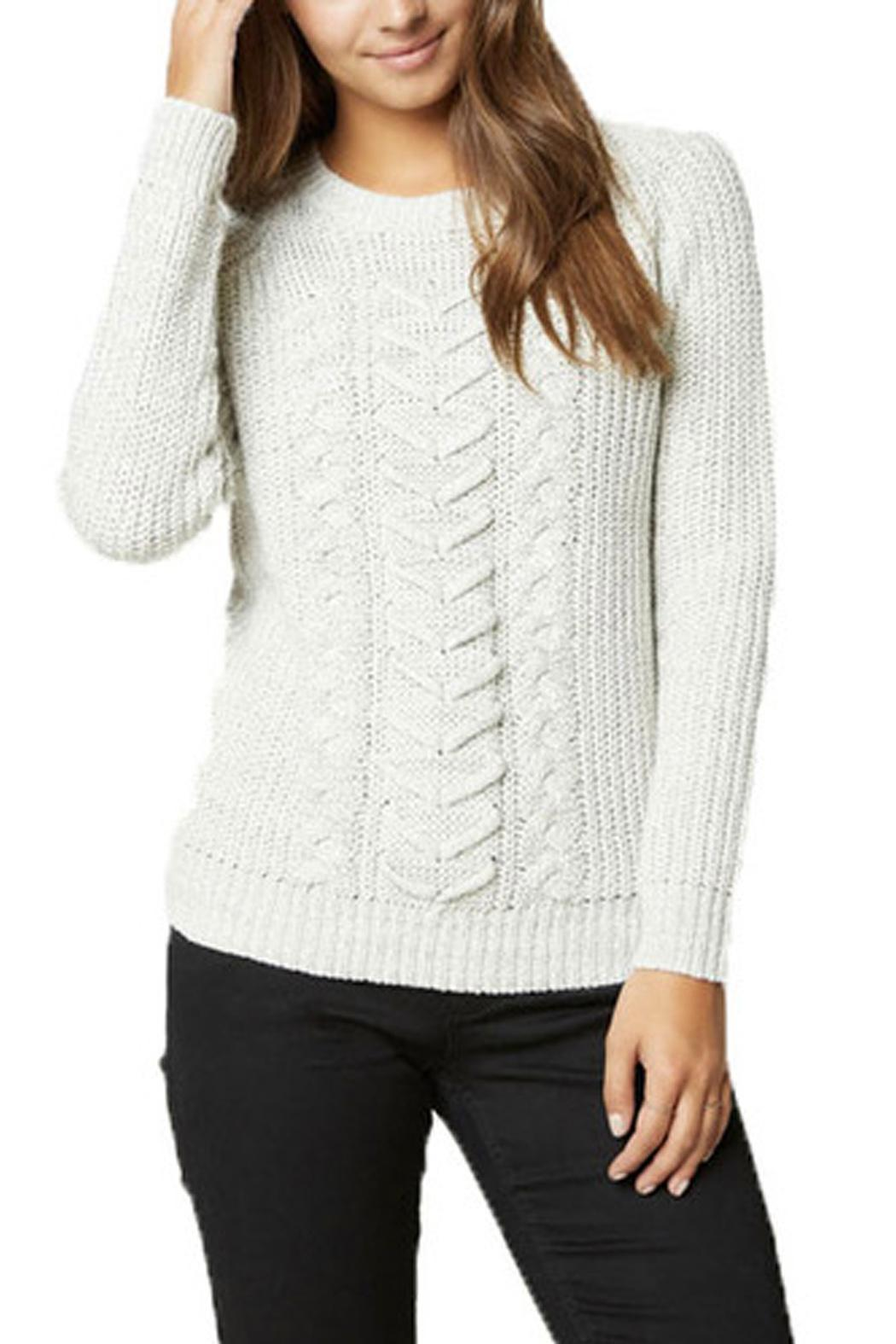 Vero Moda Knitting Yarns : Vero moda alice knit sweater from vancouver by privilege