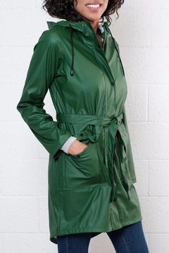Shoptiques Product: Belted Raincoat