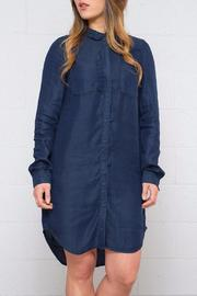 Vero Moda Denim Shirt Dress - Product Mini Image