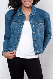 Vero Moda Denim Turn Down Jacket - Product Mini Image