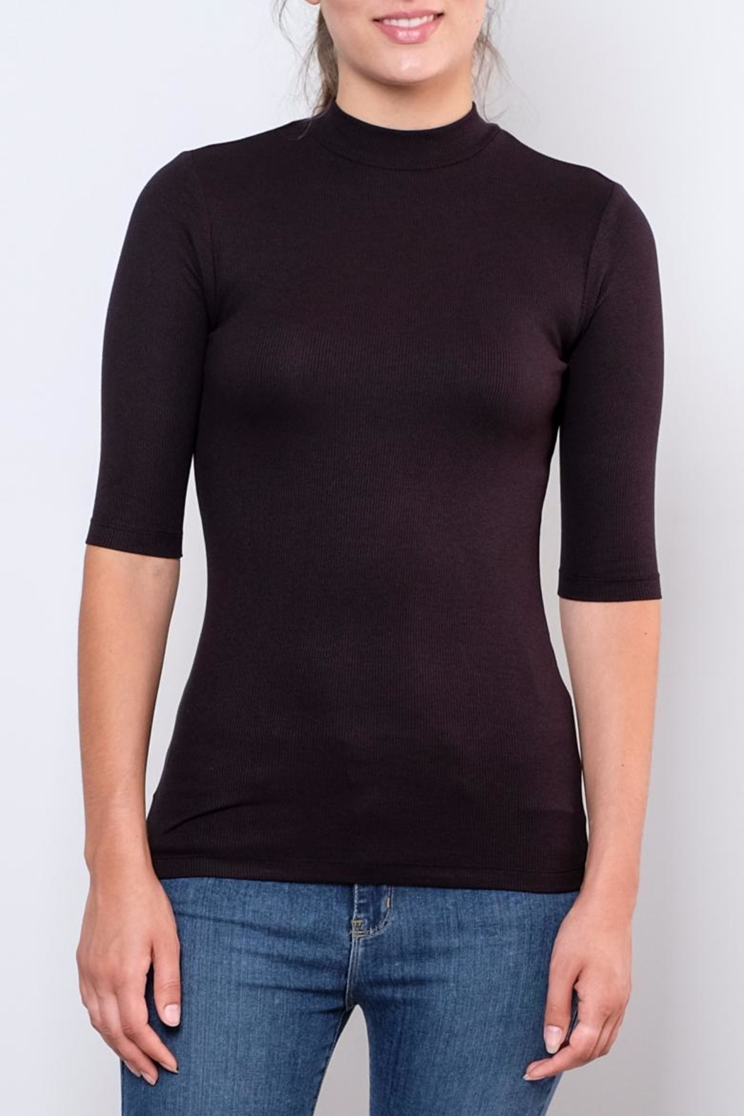 Vero Moda Fitted Mock-Neck Top - Main Image